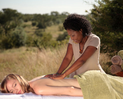 The wildest massage in Africa