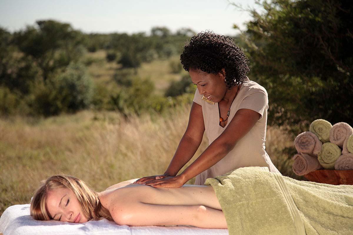 The wildest massage in Africa